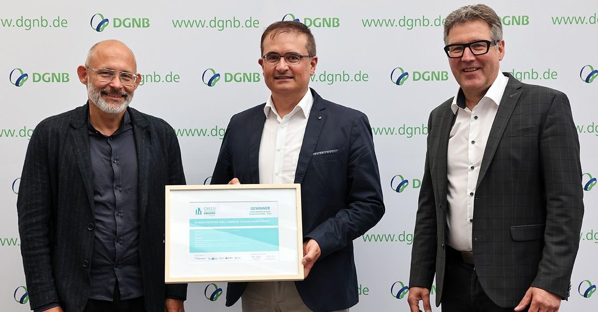 Die Gewinner der Green Solutions Awards Deutschland stehen fest