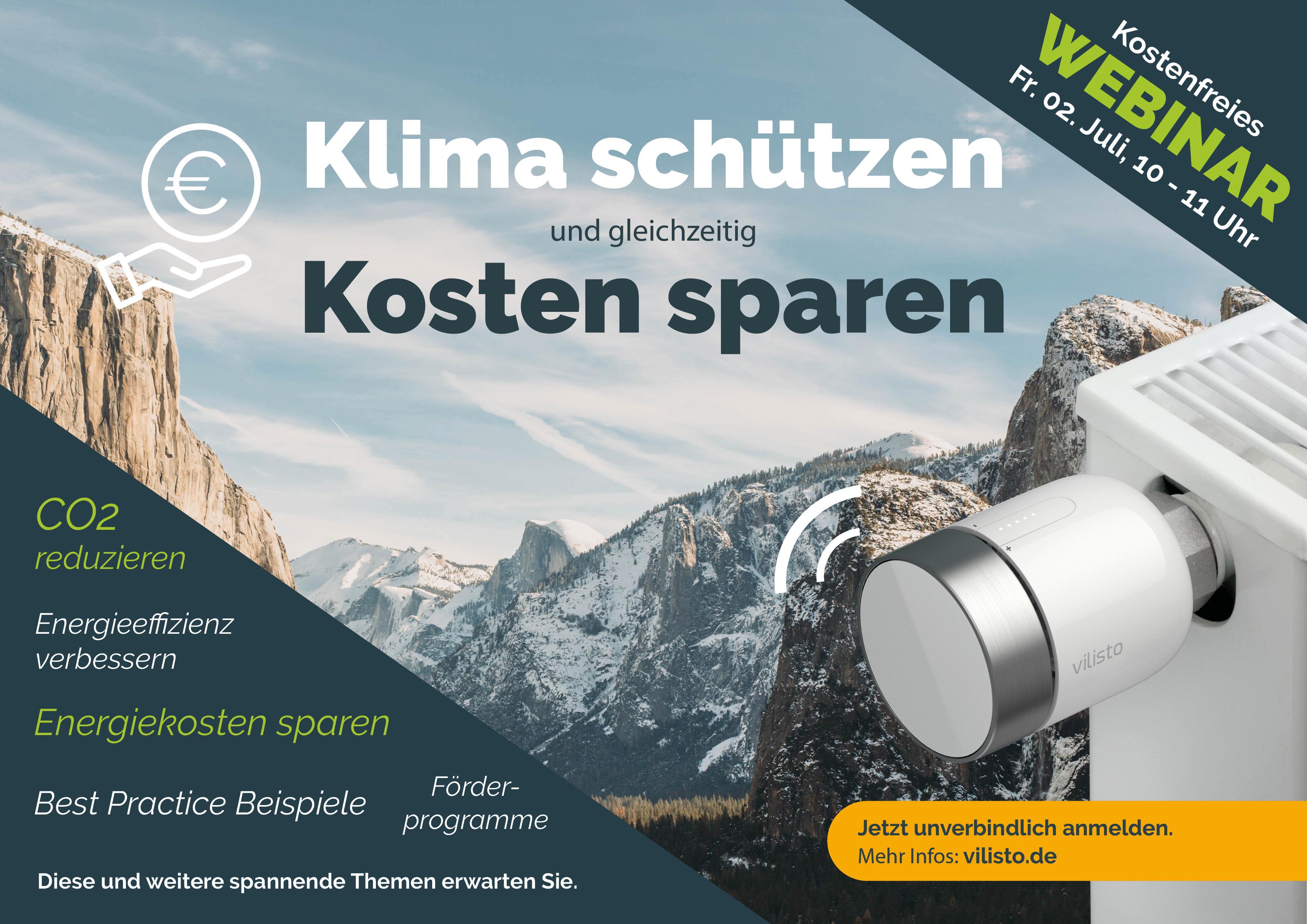 Exklusives Klimaschutz-Webinar am 2. Juli