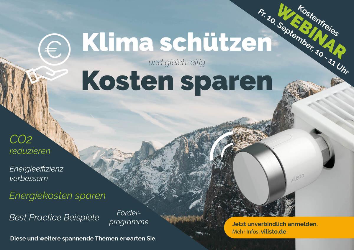 Exklusives Klimaschutz-Webinar am 10. September