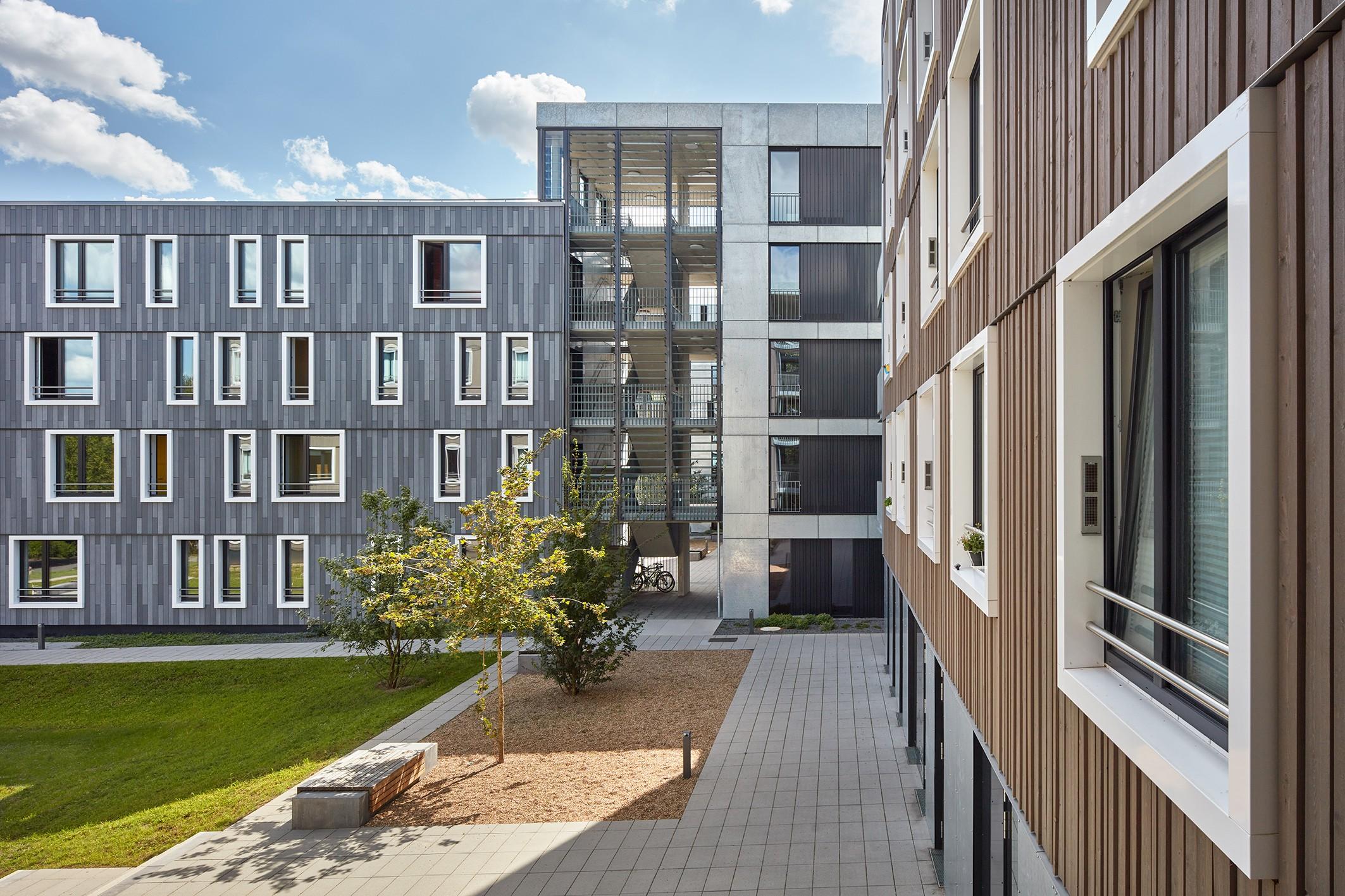 Holzhybridbau: 258 neue Wohnplätze im Passivhausstandard - Variowohnen Bochum