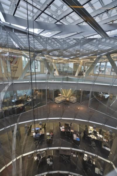3 nuevas oficinas se suman a los edificios construction21 nueva sede naturgas en bilbao - Luckia oficinas madrid ...