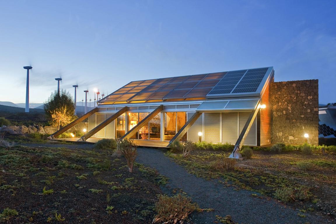 Introducci n al bioclimatismo y su funci n en las for Construccion de casas bioclimaticas