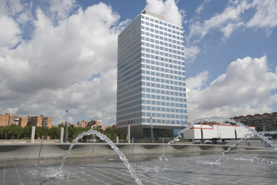 Iberdrola inmobiliaria certificado breeam en su edificio - Oficina iberdrola madrid ...