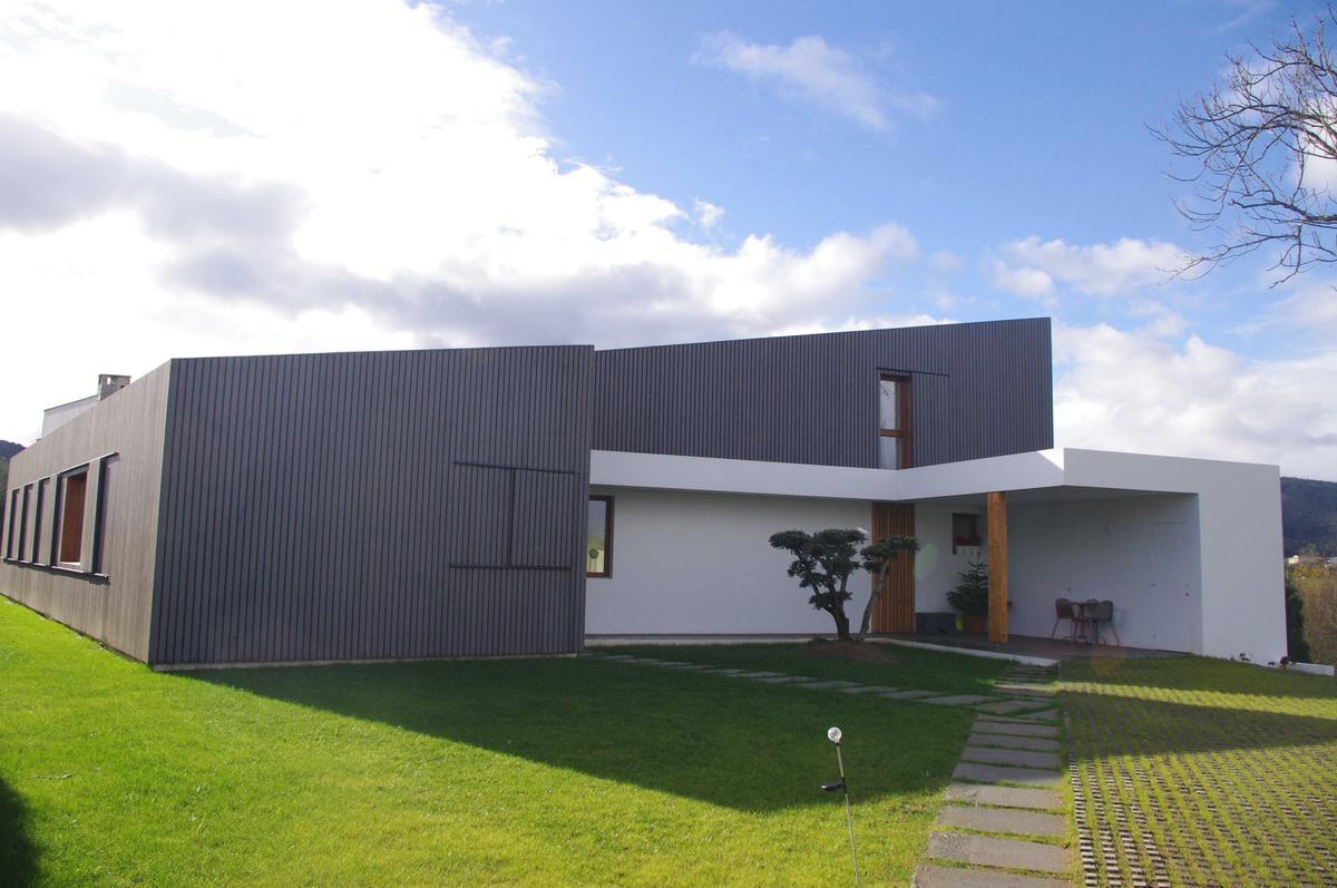 Casa en muros vivienda certificada passivhaus for Casa minimalista 90m2