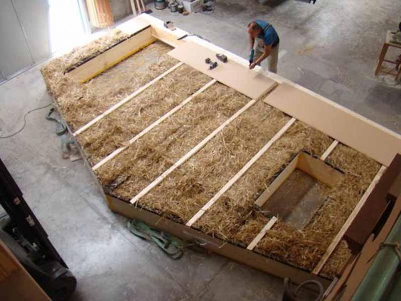 Larixhaus Straw Bale And Timber Passive House