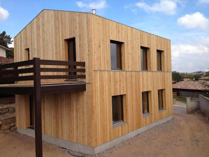 Larixhaus casa pasiva de paja y madera construction21 - Casa de madera espana ...