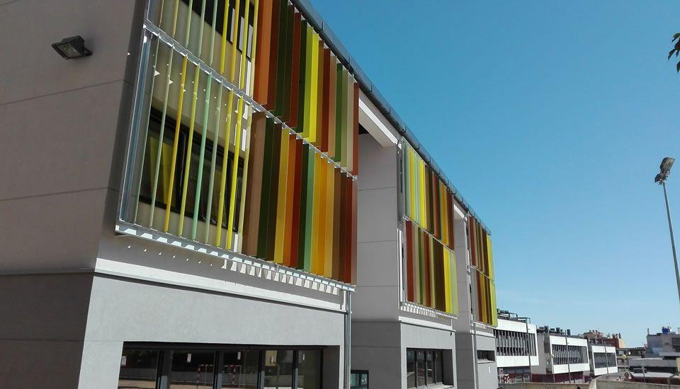 EnerPhit paso a paso Colegio El Garrofer – promotor: ayuntamiento de Viladecans, proyecto y PH-Design Energiehaus Arquitectos/Berta Pujol, foto M.Wassouf