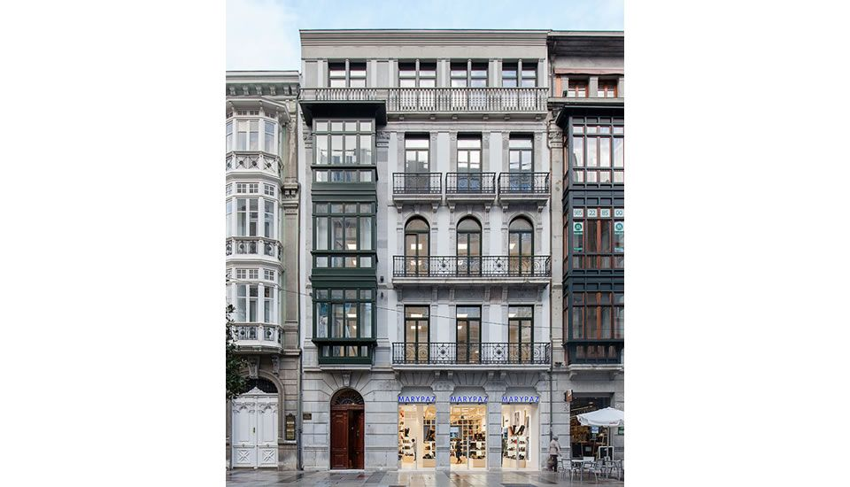 "Passivhaus calle Uria/ Oviedo – promotor ""Comunidad de propietarios Calle Uría 58"", PH-Design Begoña Viejo, foto: T.Crespo/ Pevida"