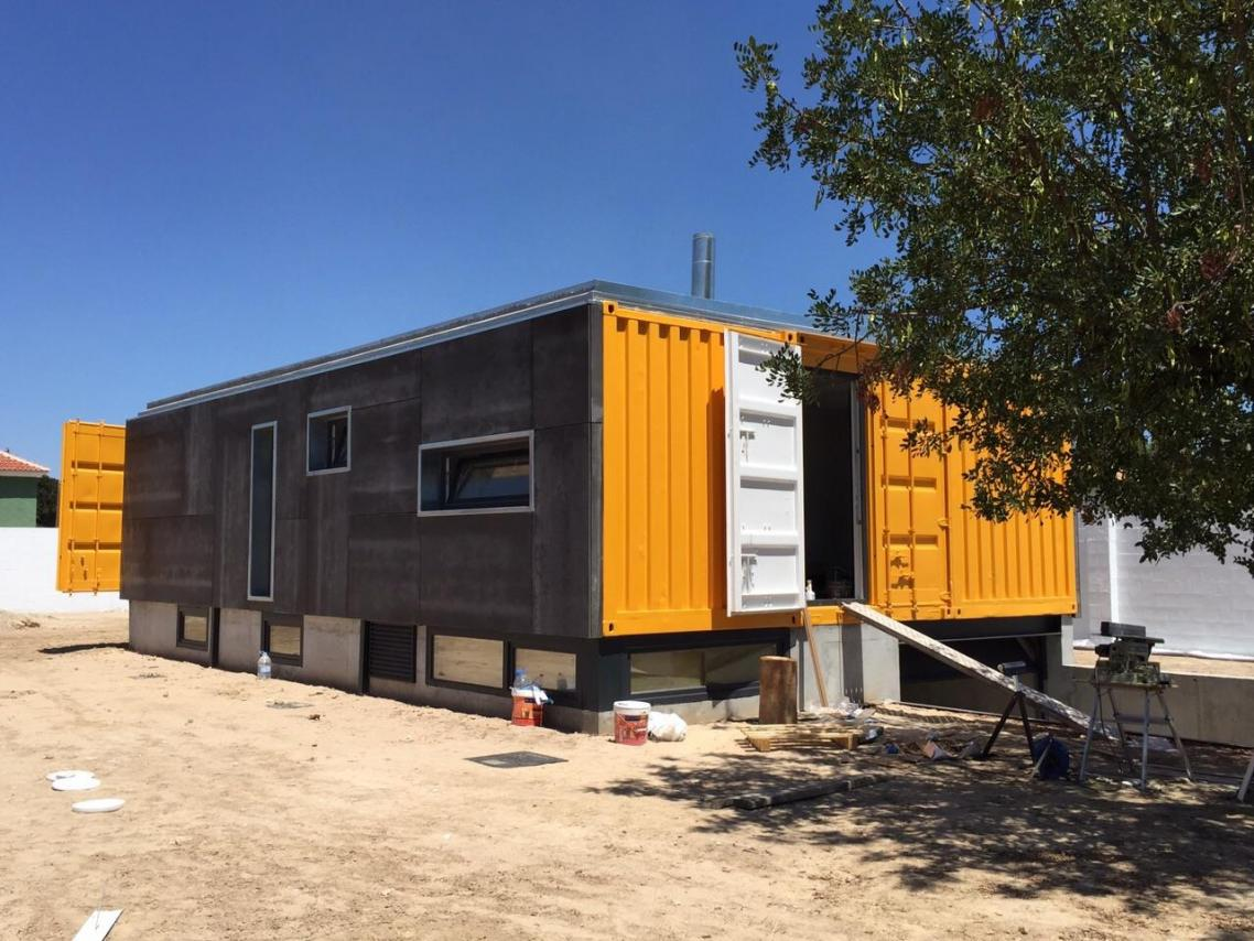 Vivienda con contenedores mar timos en mutxamel - Casas contenedores espana ...