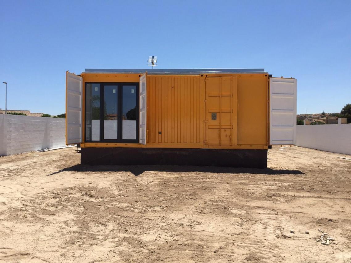 Casa contenedor precio espaa good construir una casa con for Casa contenedor precio