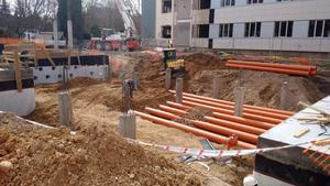 Solution of geothermal tubes, also called Canadian wells