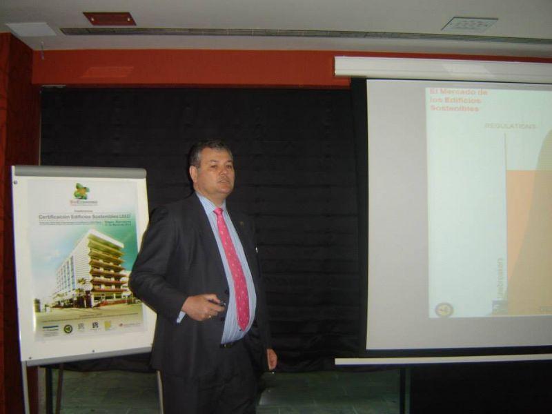 Aurelio Ramirez, Presidente Spain Green Building Council