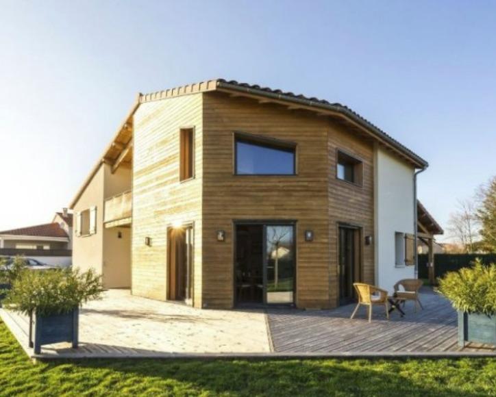 Une maison bioclimatique en bois et b ton construction21 - Maison bois et beton ...