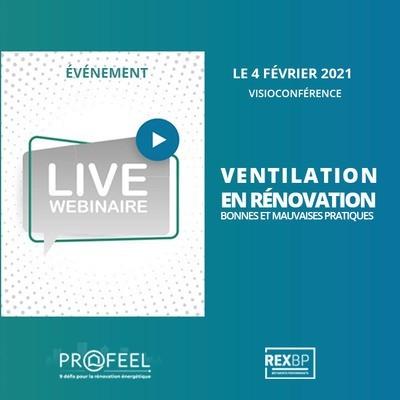 [Webinar] Ventilation en rénovation : retours d'expériences terrain & bonnes pratiques