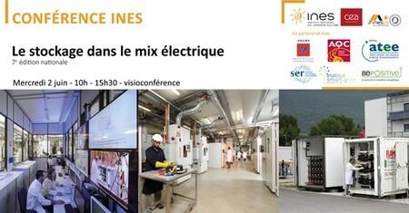 [Webinar] Conférence INES : Le stockage dans le mix électrique