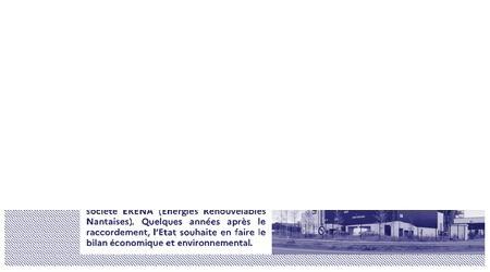 Raccordement des bâtiments de l'État au réseau de chaleur « Centre Loire » à Nantes