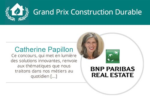 quarier et ville durable, green solutions awards
