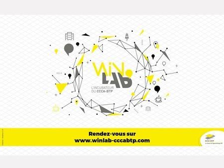 WinLab'Innovation Live : une série de cinq webconférences dédiées à l'économie circulaire dans la construction