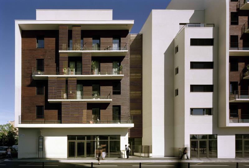 Immeuble du square phaeton lyon construction21 for Cout de construction immeuble