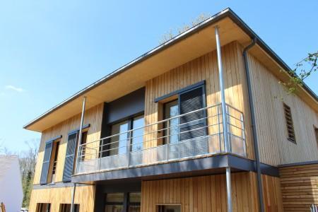 Maison Passive Individuelle En Ile De France  Construction