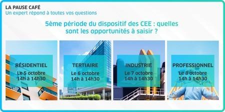 [Webinar] 5ème période des CEE : quelles sont les opportunités à saisir ?
