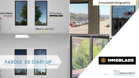 IMMOBLADE : une protection solaire pour les bâtiments