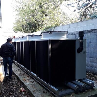 Pompes à chaleur à absorption A/E au gaz naturel