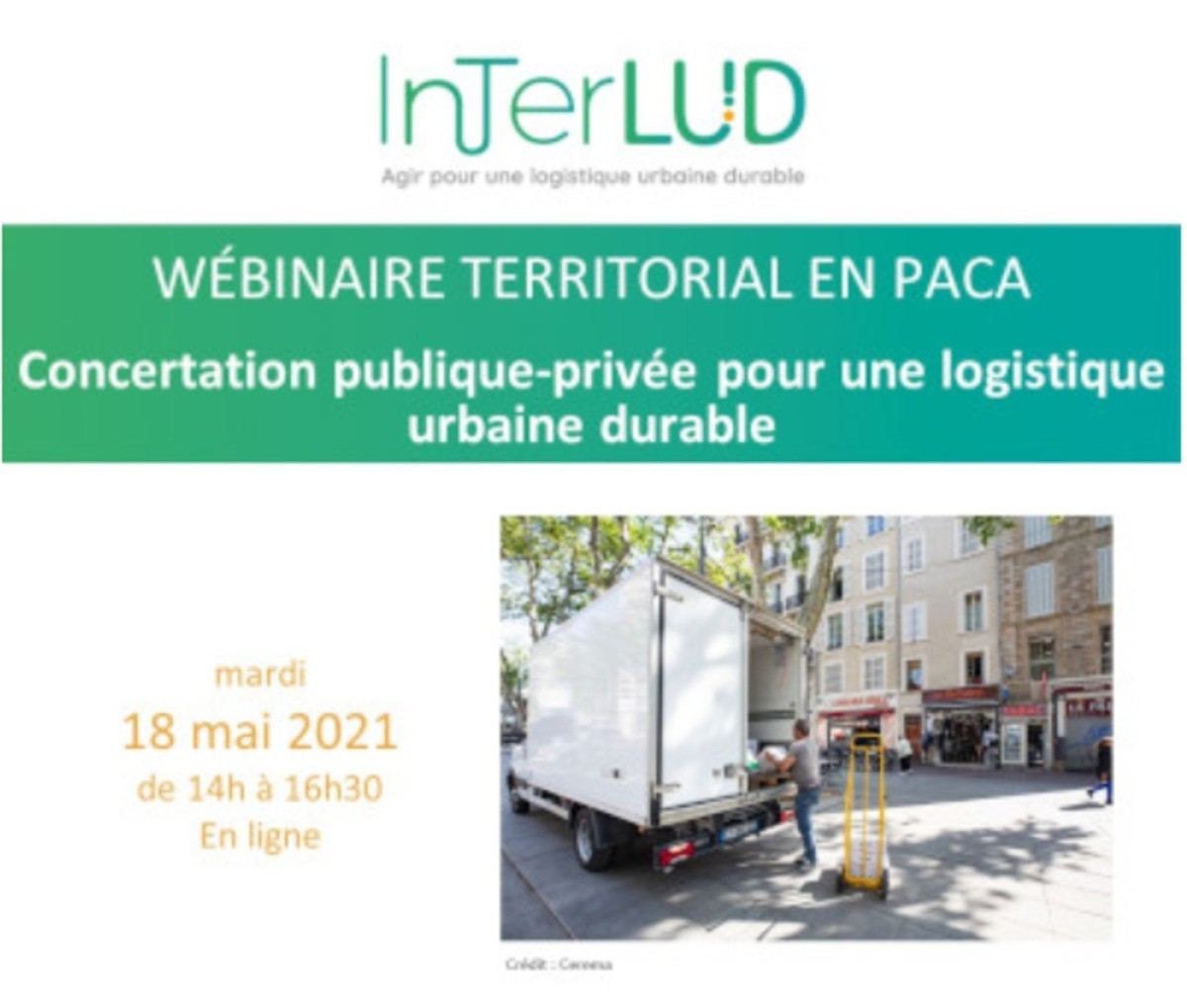 [Webinar] Concertation publique-privée pour une logistique urbaine durable