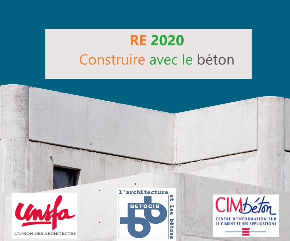 [Webinar] RE2020, construire avec le béton