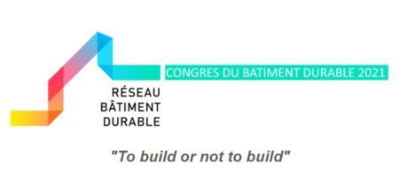 9ème Congrès International du Bâtiment Durable