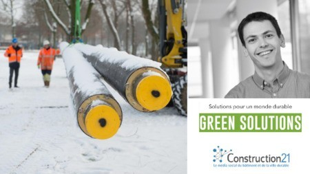 [Green Solutions] Les réseaux de chaleur et de froid de 5e génération
