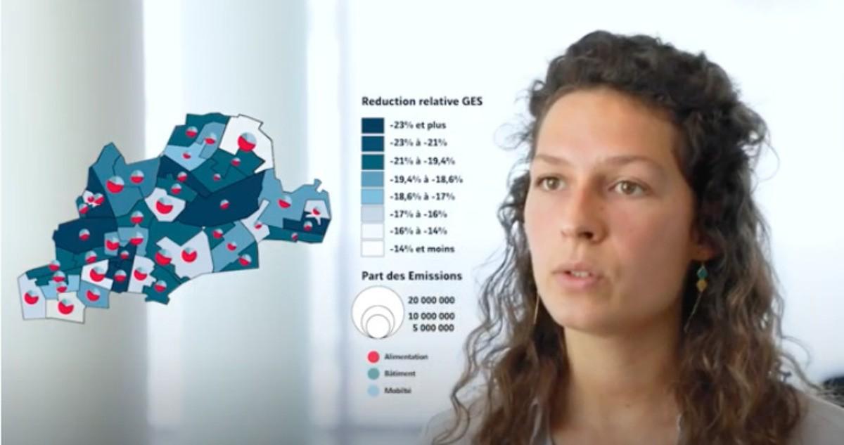 Vidéo : étude sur l'écoconception de la ville de Montreuil