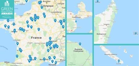 Tendances Green Solutions Awards 2020-21 : les régions