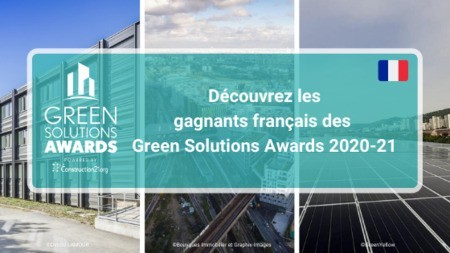 Green Solutions Awards 2020-21 : qui sont les gagnants français ?