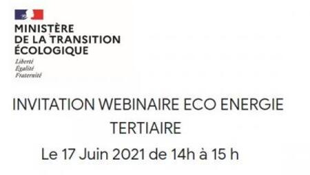 [Webinar] Dispositif Eco Energie Tertiaire | Ministère de la transition écologique