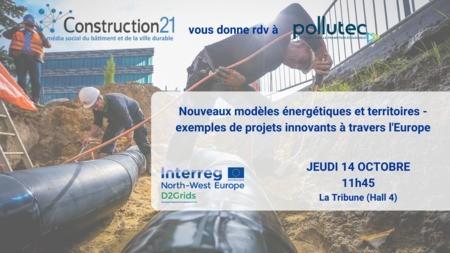 Nouveaux modèles énergétiques et territoires - Exemples de projets innovants à travers l'Europe