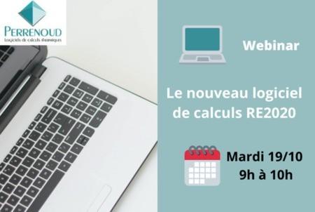 [Webinar] Découvrez le nouveau logiciel Perrenoud de calcul RE2020 !