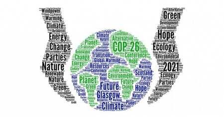 Le pavillon de l'environnement bâti à la COP26