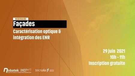 [Webinar] Façades : caractérisation optique & intégration des ENR