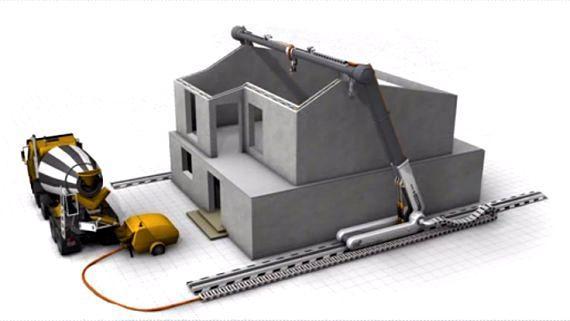 l impression 3d b ton vers une explosion de la demande construction21. Black Bedroom Furniture Sets. Home Design Ideas