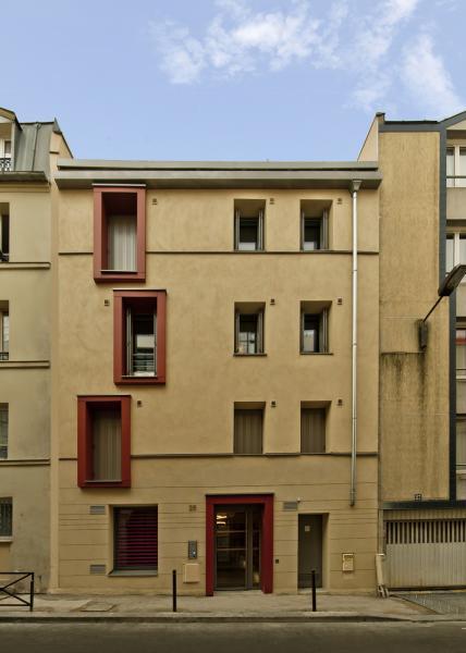 Un immeuble en b ton de chanvre paris construction21 for Cout de construction immeuble