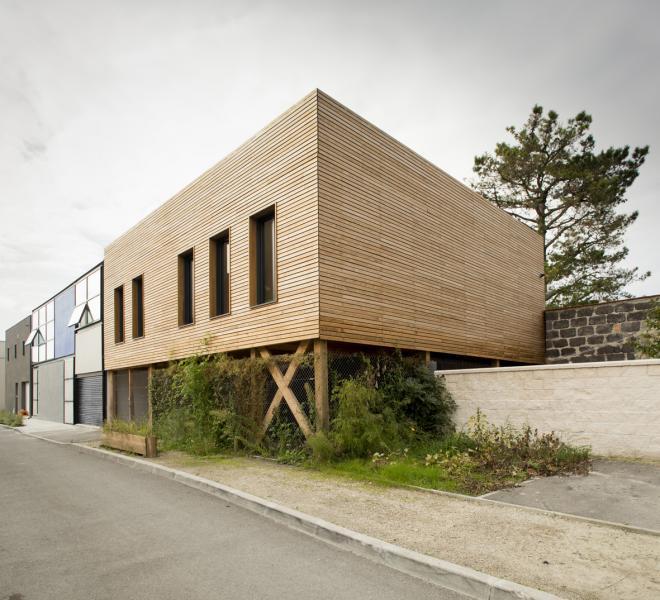 maison avec toit jardin bordeaux benauge construction21. Black Bedroom Furniture Sets. Home Design Ideas