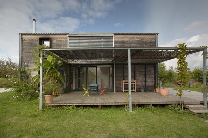 Maison passive tabanac construction21 - Maison passive en bois ...