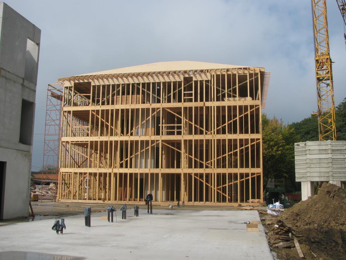 La plus grande maison de retraite en structure bois et for Maison structure bois