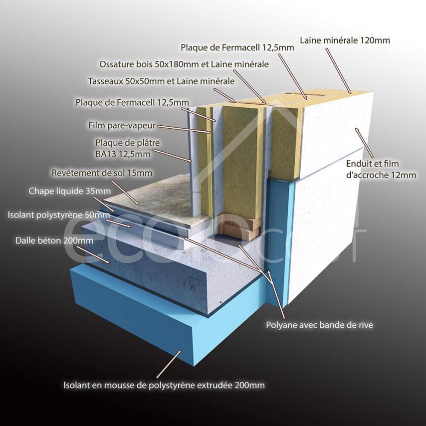 maison bepos en bois alistair construction21. Black Bedroom Furniture Sets. Home Design Ideas