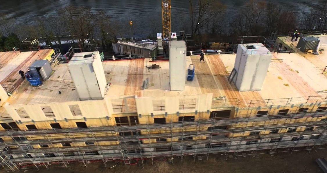 Eiffage lance une structure d di e la construction bois construction21 for Construction bois 21