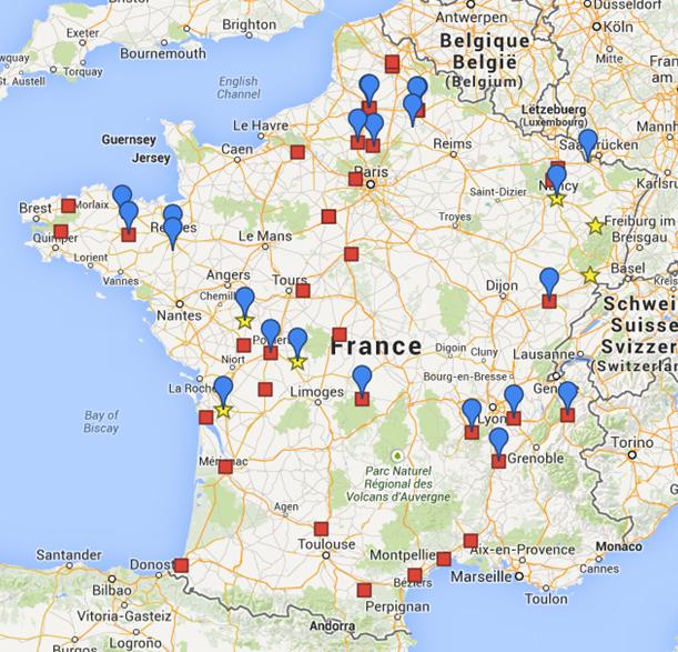 66 plateaux sont ainsi disponibles sur 13 régions. Et 243 formateurs habilités à former les artisans sur les plateaux techniques sont sortis des modules Praxibat depuis 2012.