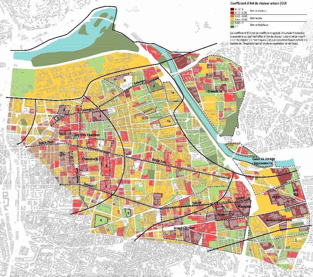 plan de villeurbanne