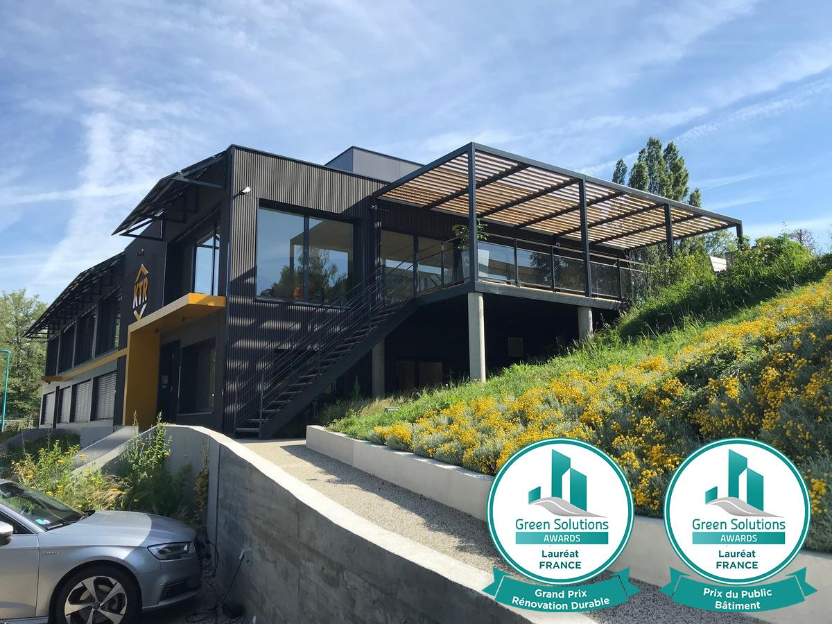 Etude de cas Eco-Rénovation siège de KTR France