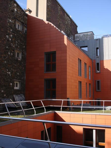 Restructuration d un immeuble de bureaux en 20 logements for Cout de construction immeuble